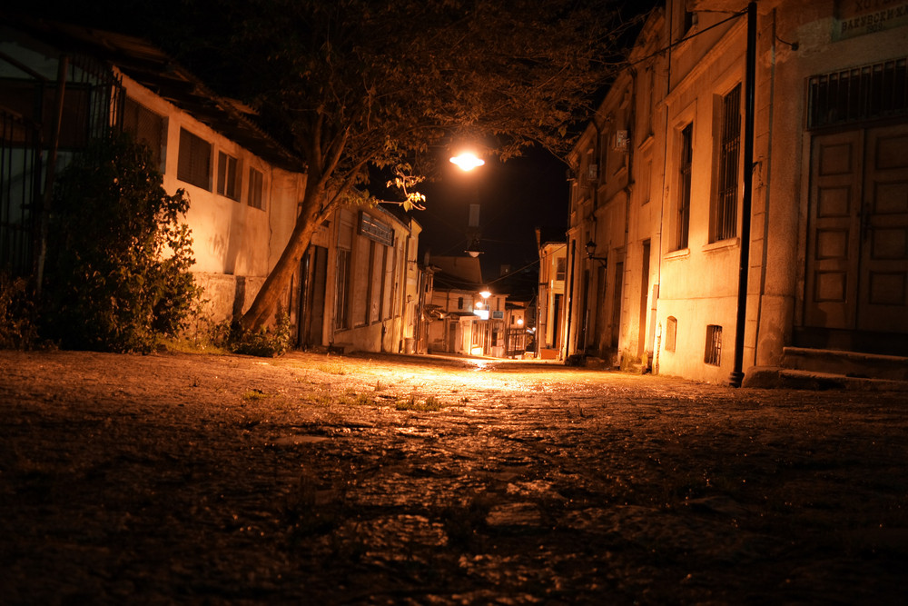 Old Street At Night