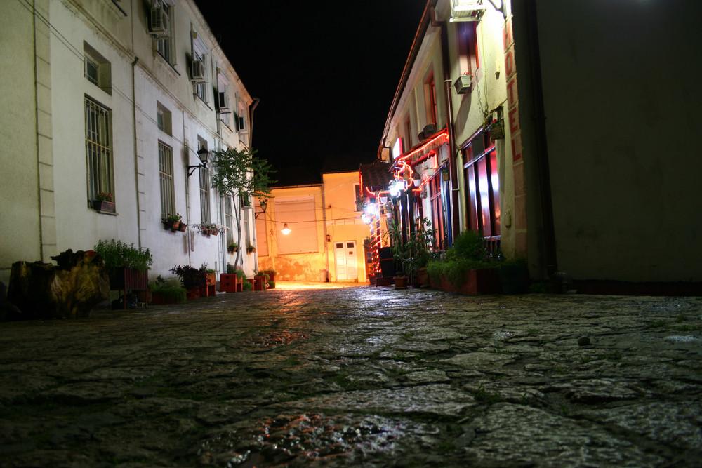 Old Street At Night