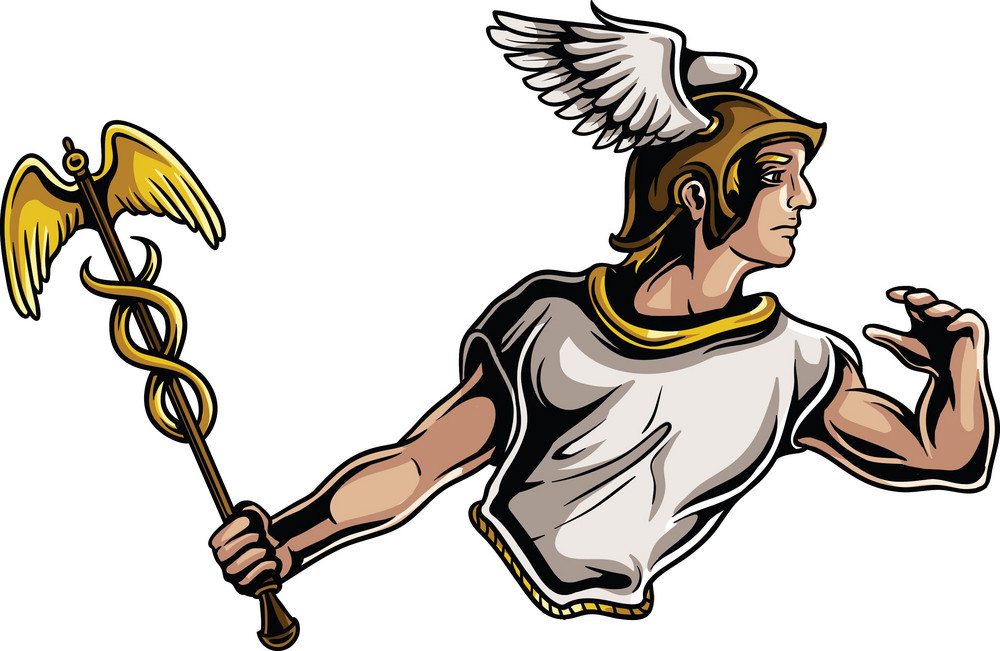 Olympian Gods Vector Element