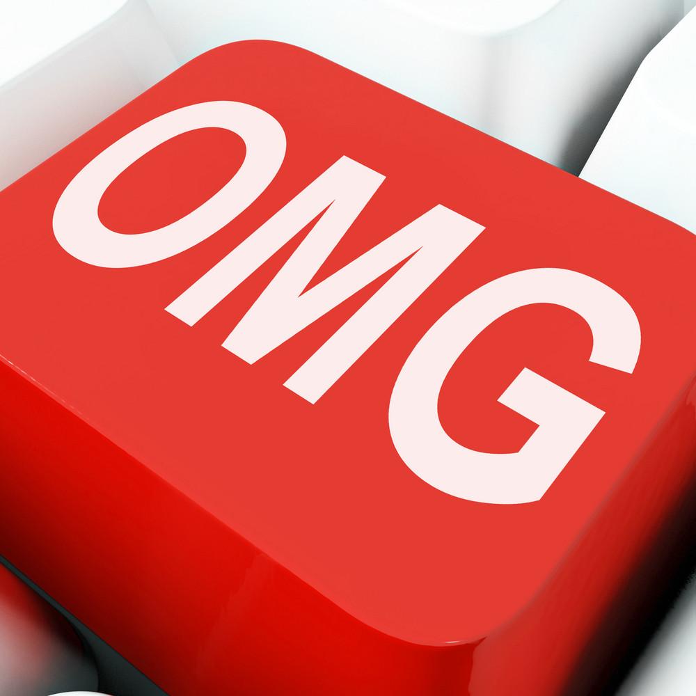 Omg Keys Show Oh My God Or Shocked