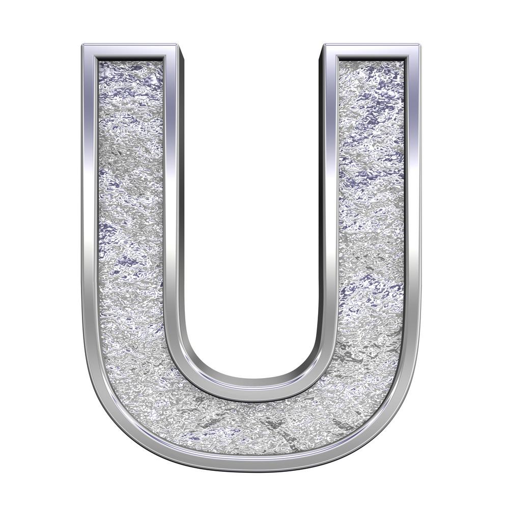 One Letter From Chrome Cast Alphabet Set