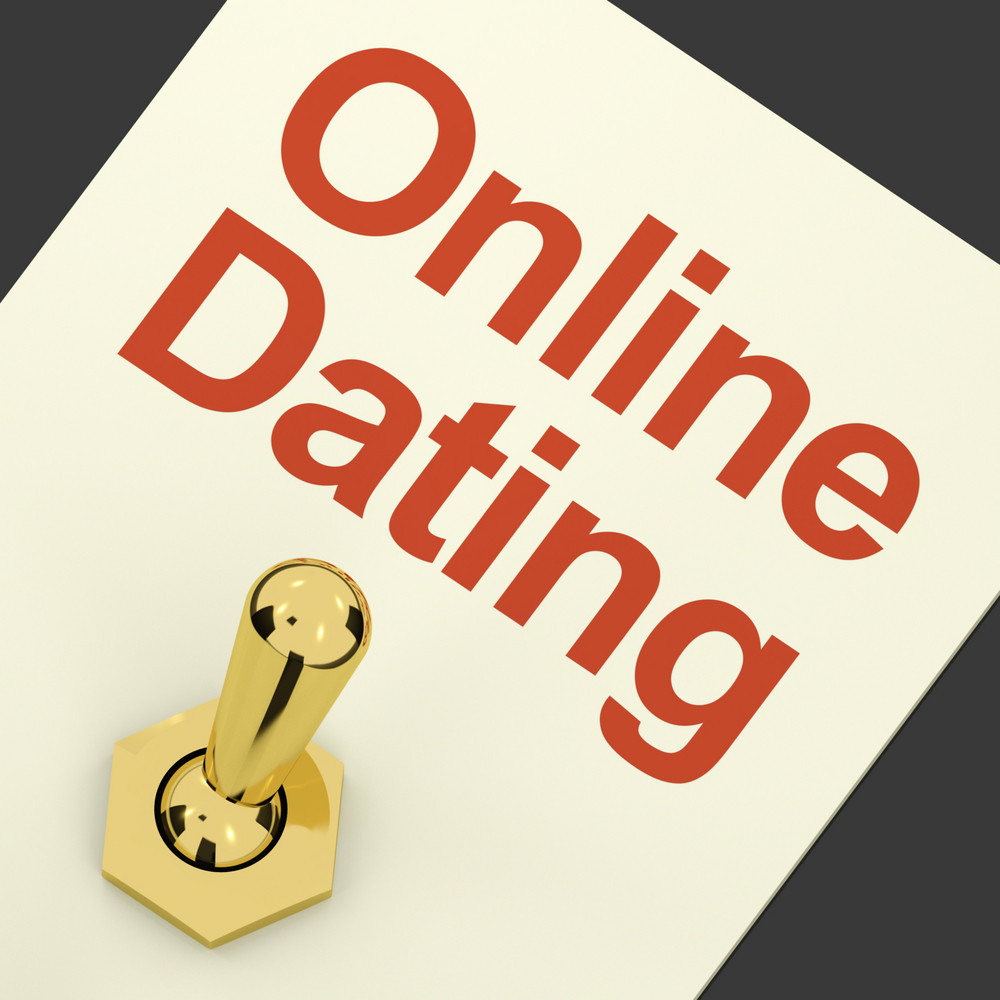 Online Dating Switch On Showing Romance And Love
