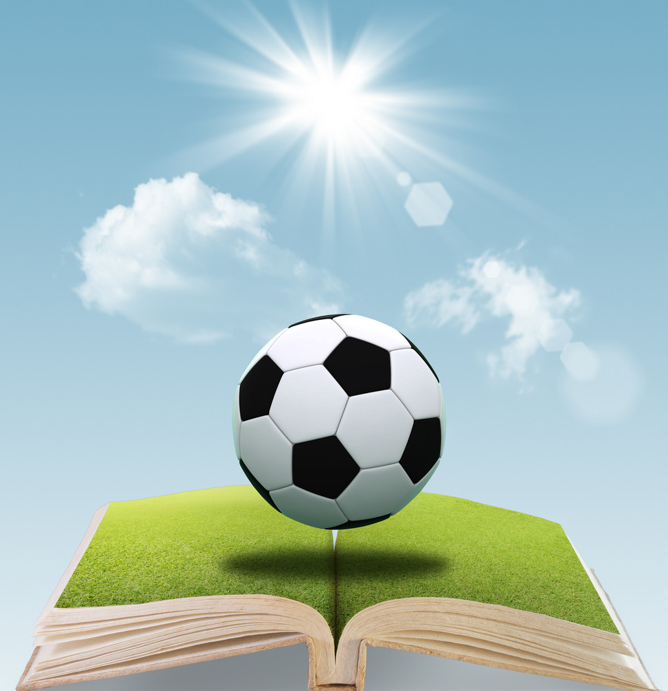 Open Book Of Soccer Ball