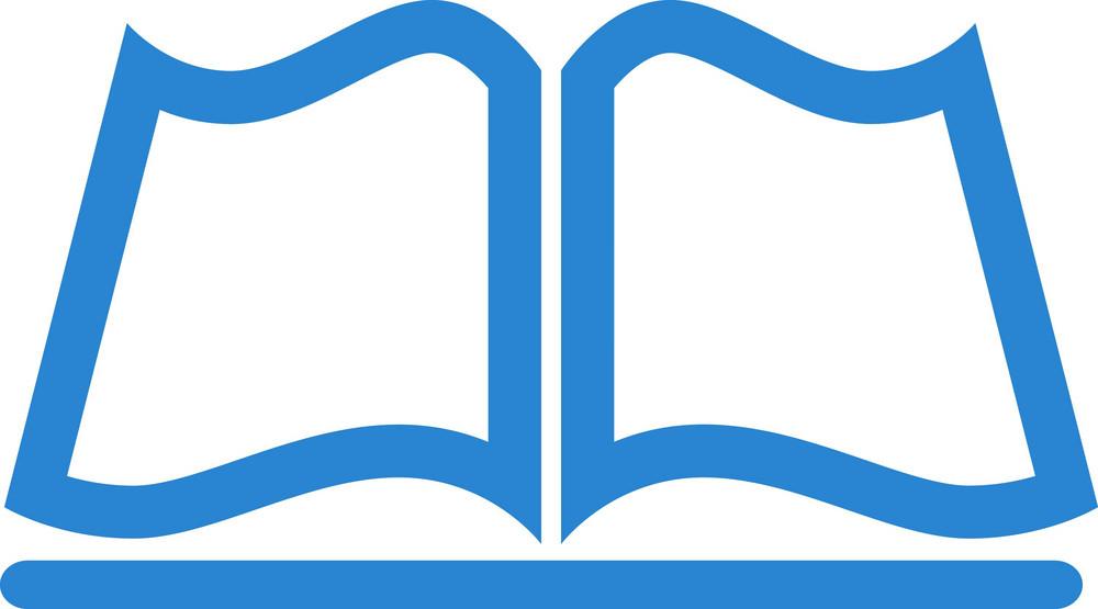 Open Book Simplicity Icon