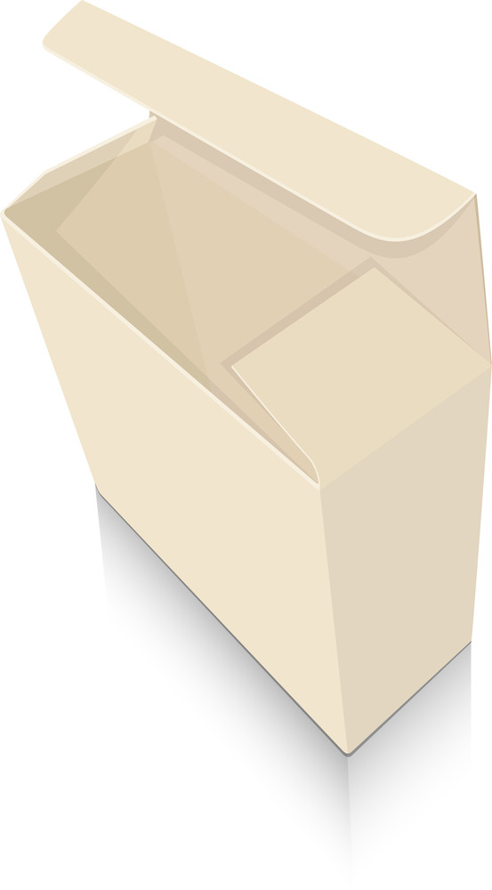 Open Box Illustration