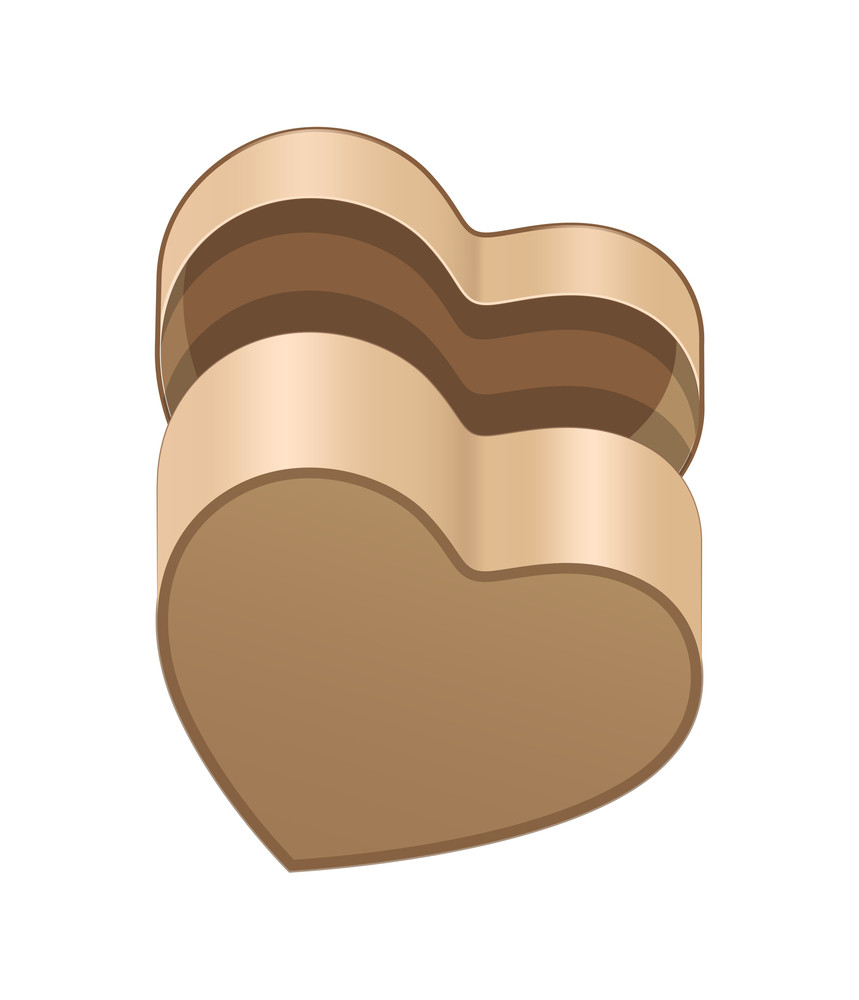 Open Heart Box Bottom View