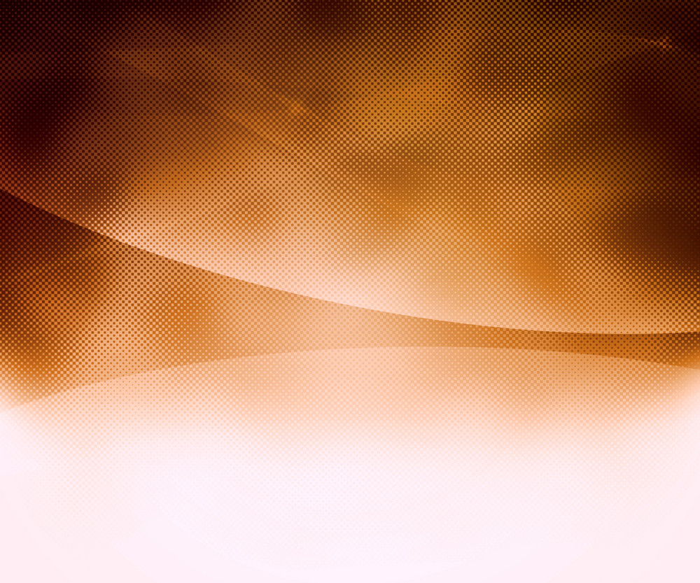 Orange Abstract Halftone Background