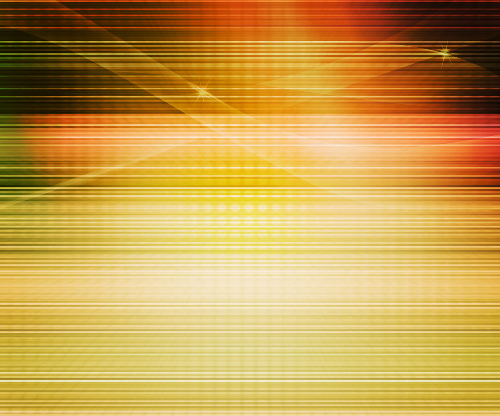 Orange Abstract Lines Background