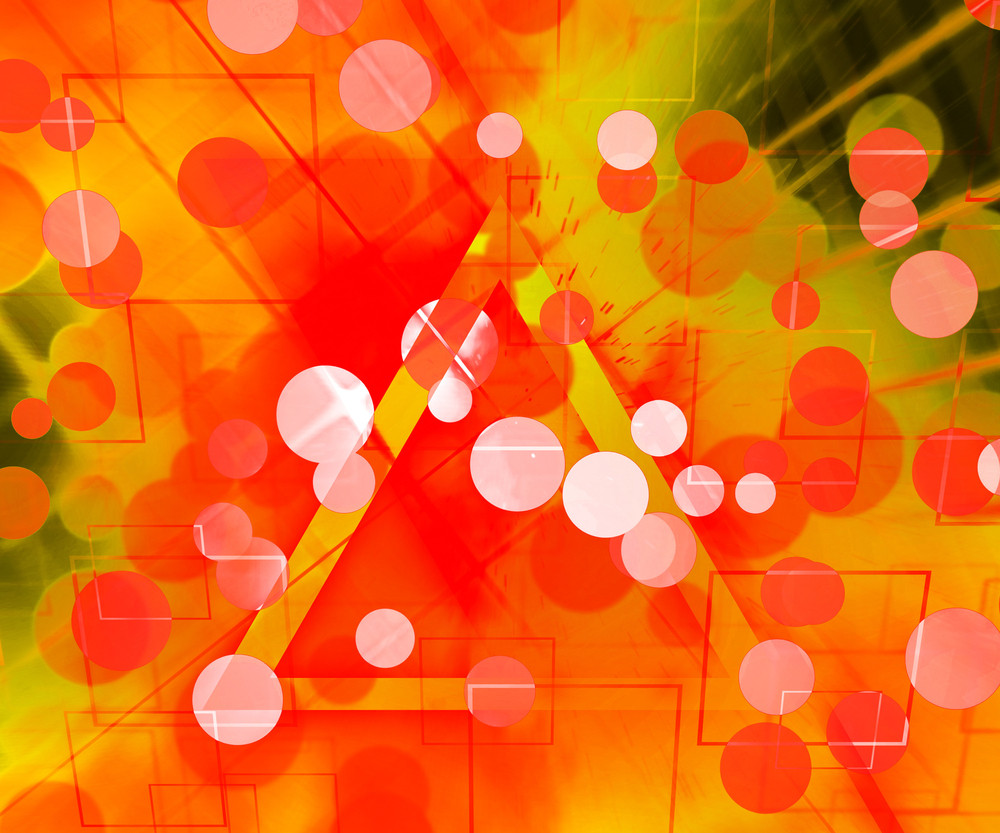 Orange Abstract Texture Background