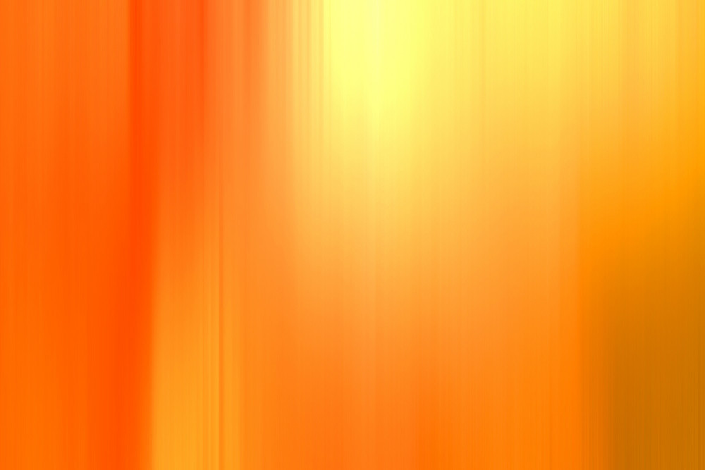 Orange Blurred Abstract Background