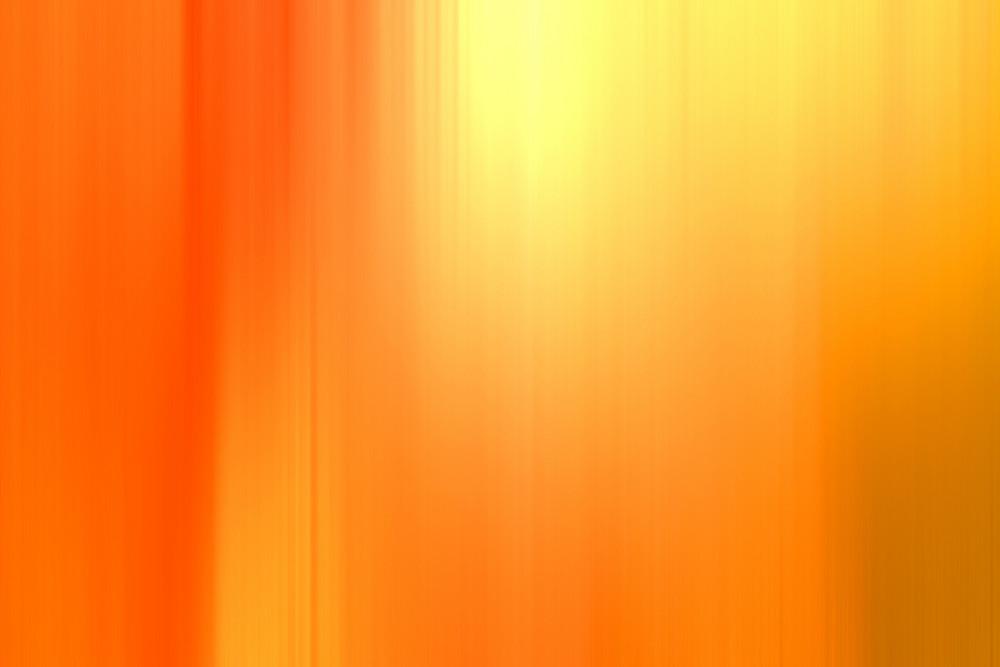 Orange Blurred Abstract Background