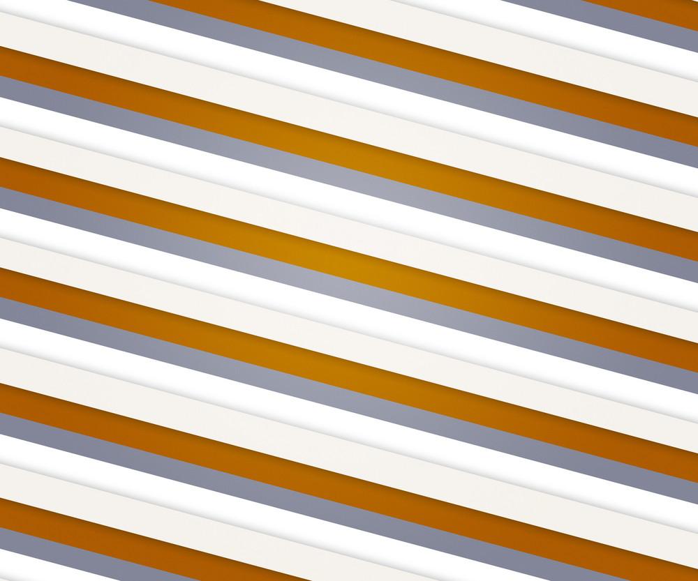 Orange Clean Stripes Backdrop