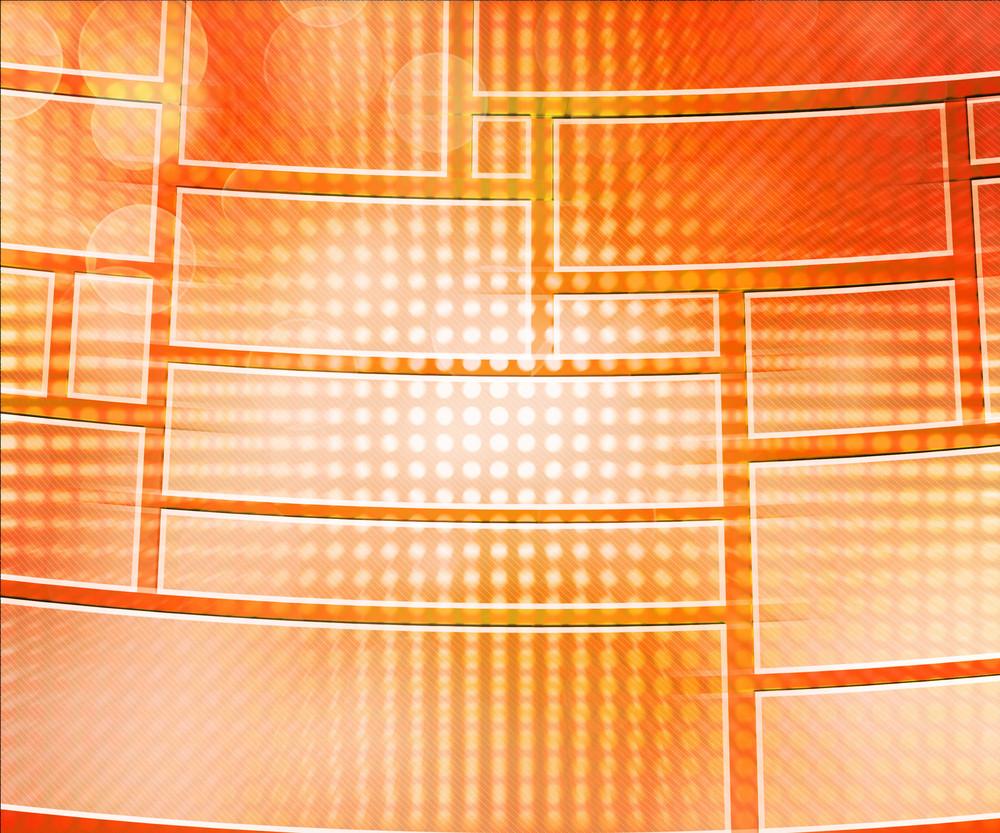 Orange Database Background