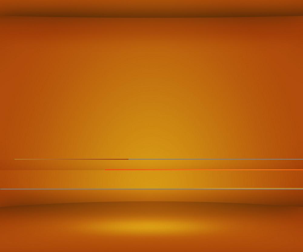 Orange Empty Spot Background