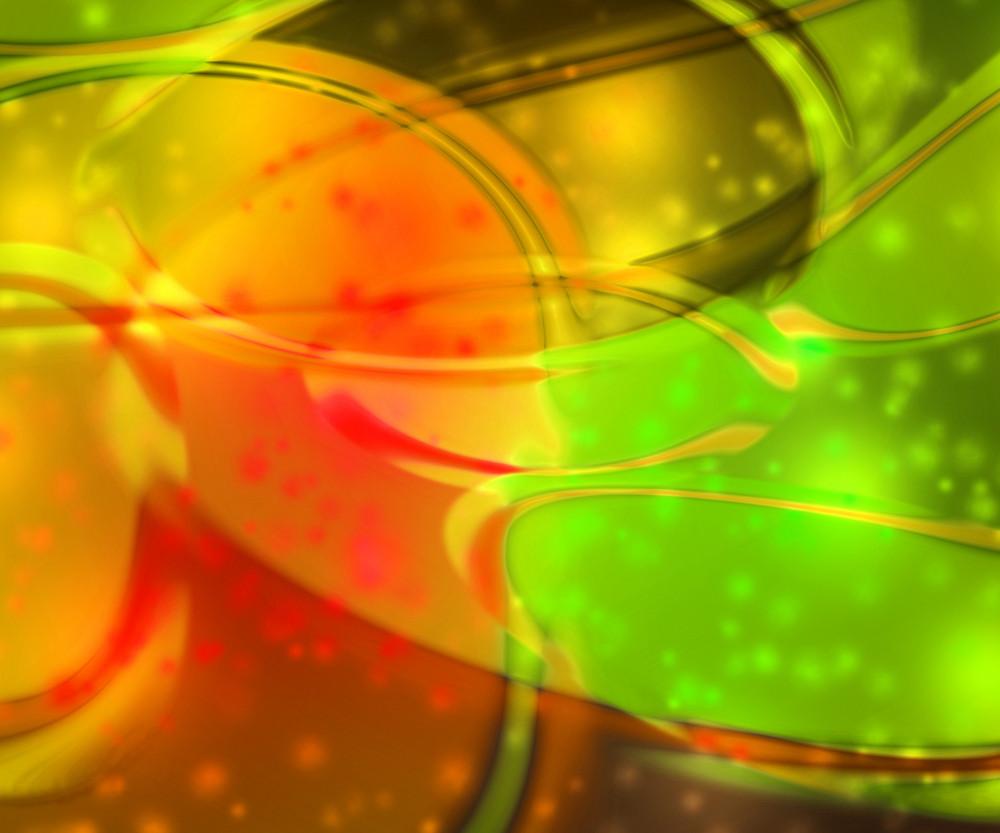 Orange Flashing Abstract Background