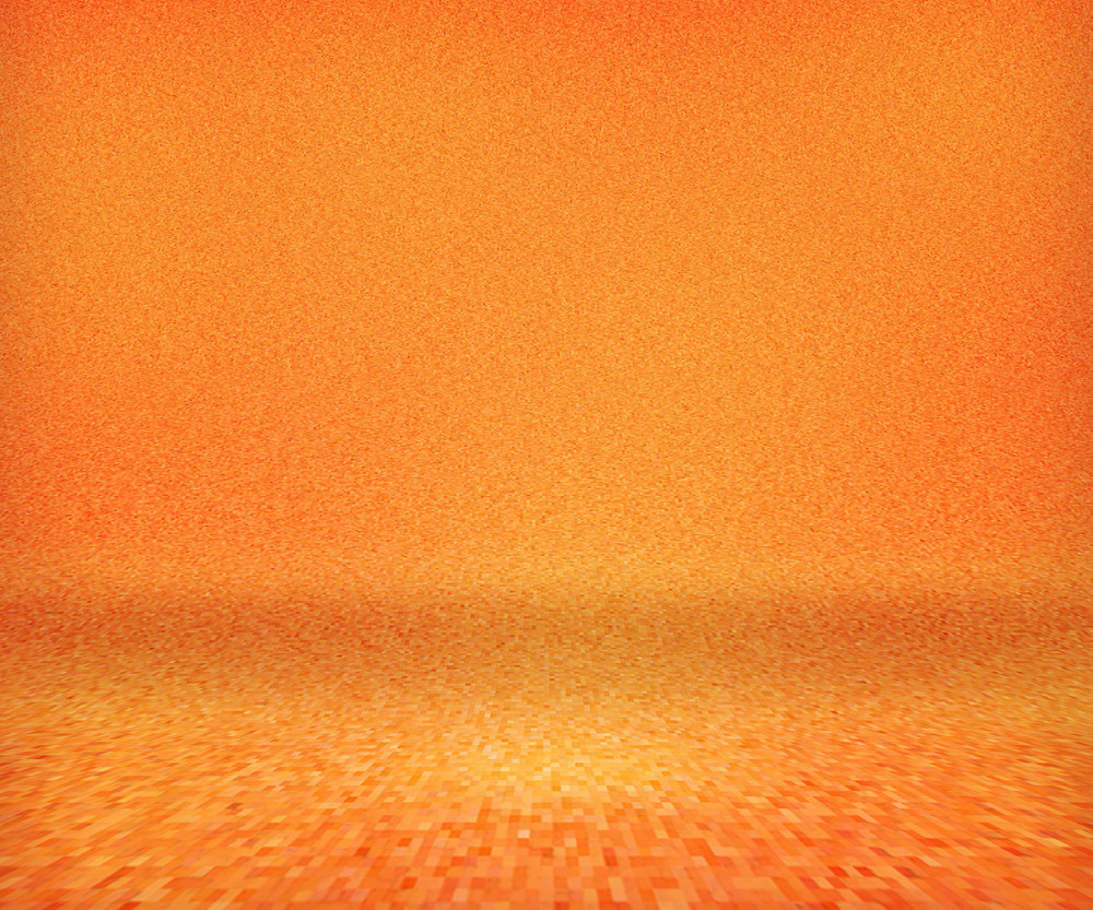 Orange Floor Background