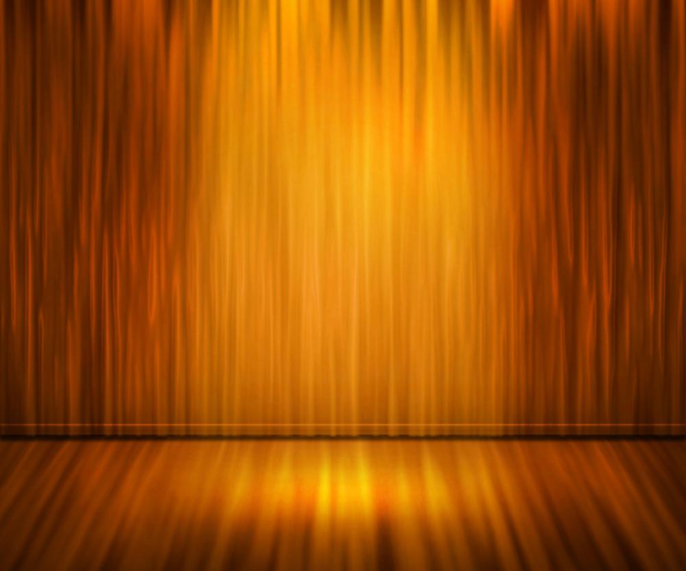 Orange Spotlight Abstract Background