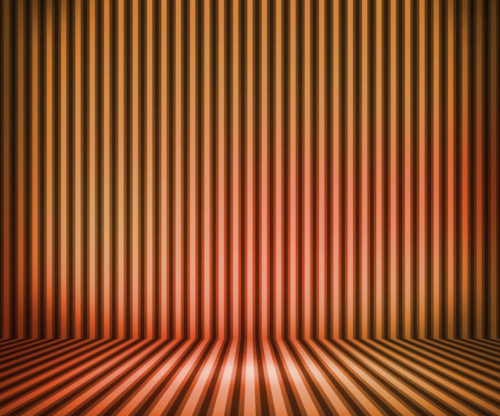 Orange Striped Background Show Room