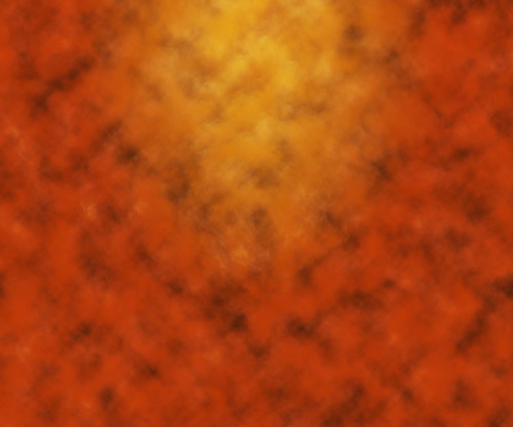 Orange Studio Photo Backdrop