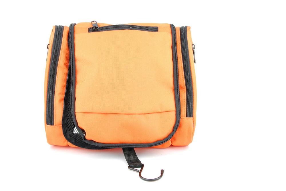 Orange Toiletry Bag