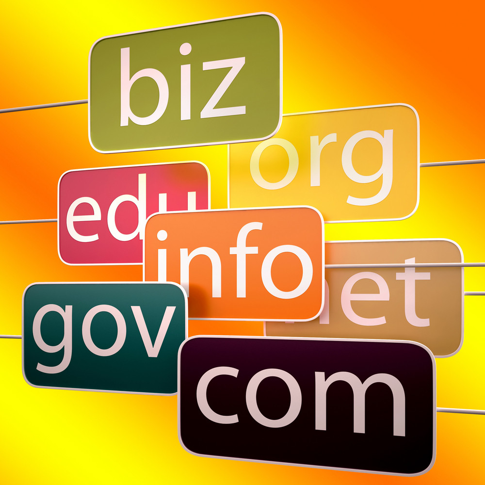 Orange Url Words Shows Org Biz Com Edu
