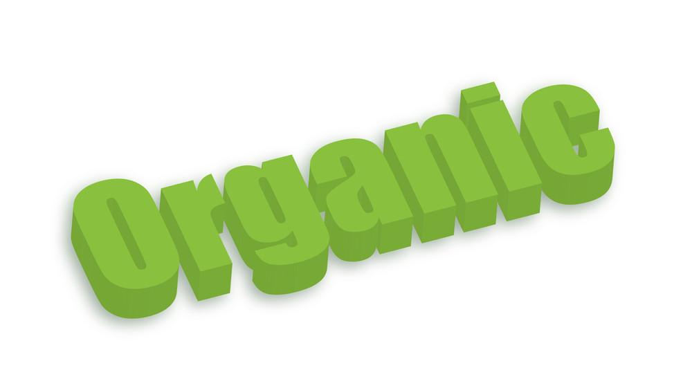 Organic 3d Text