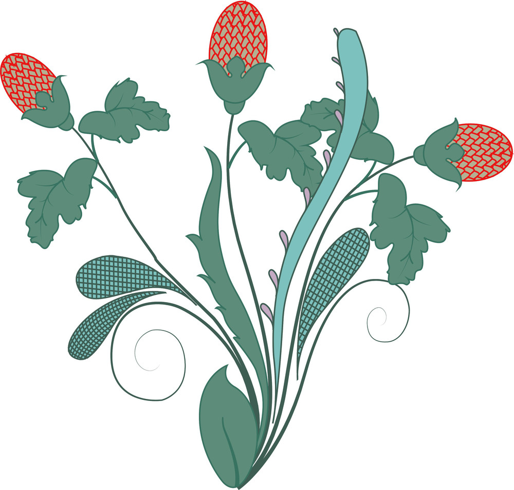 Organic Vintage Florals