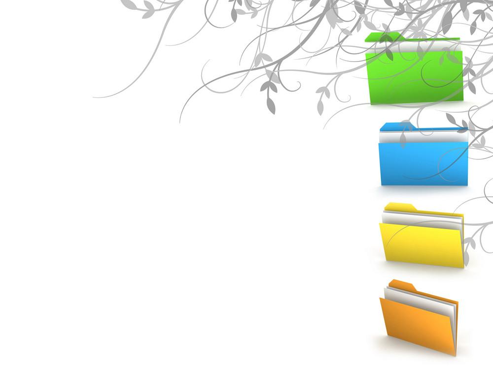 Organize Concept Background