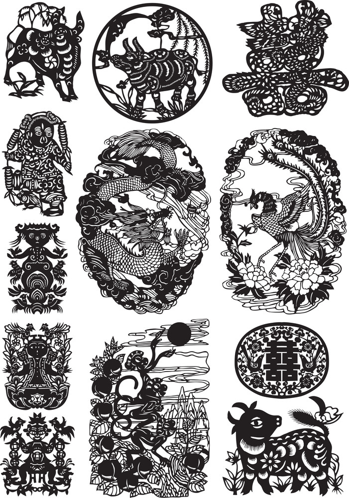 Oriental Graphics Set