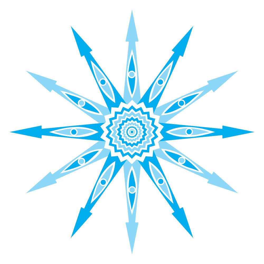 Original Vector Snowflake
