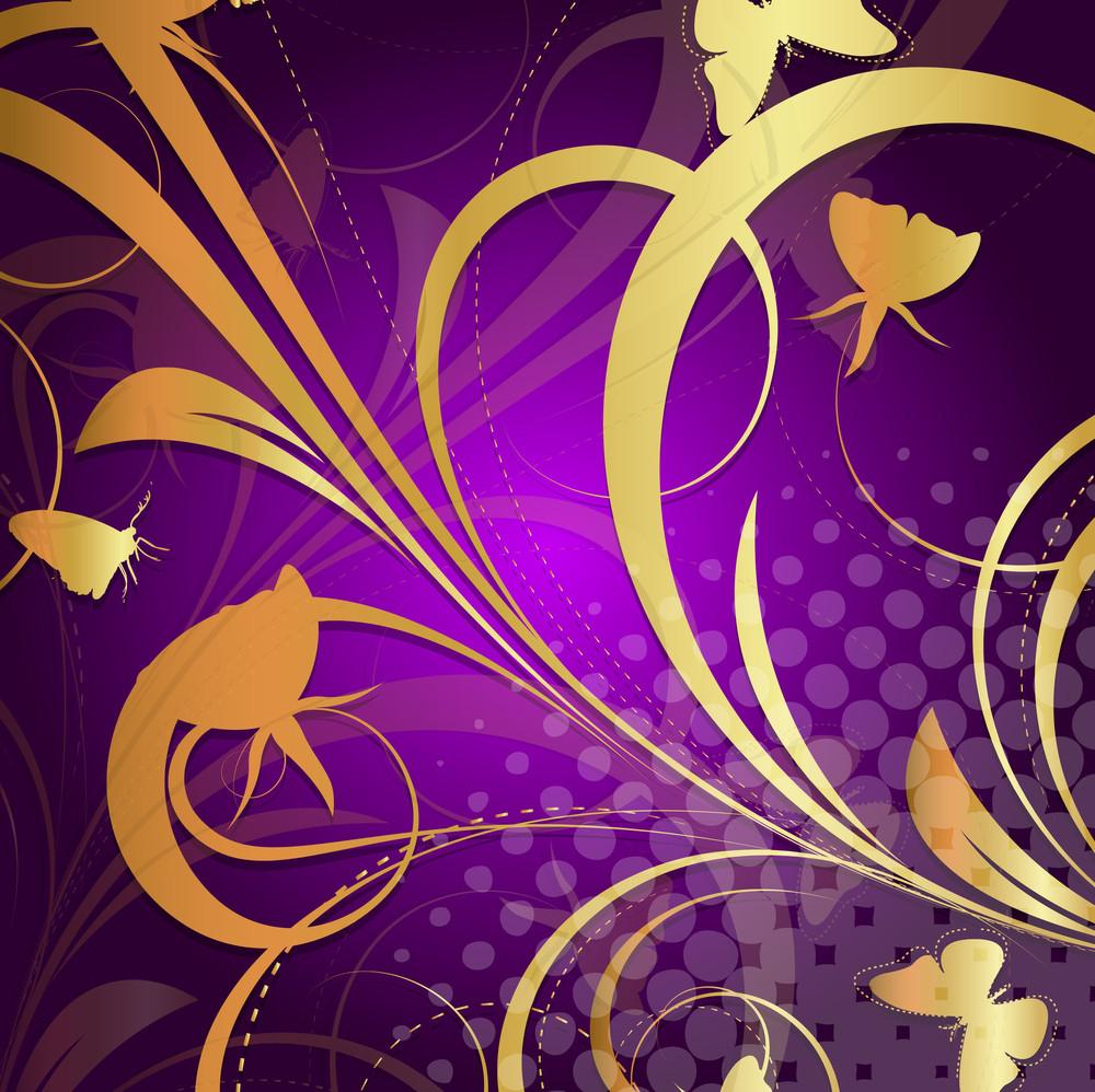 Ornamental Floral Background