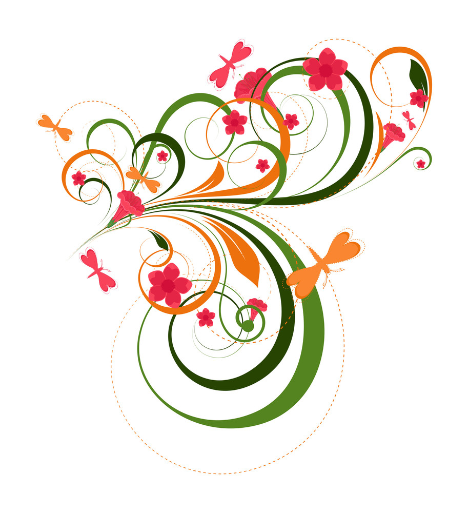 Ornamental Flourish Designs