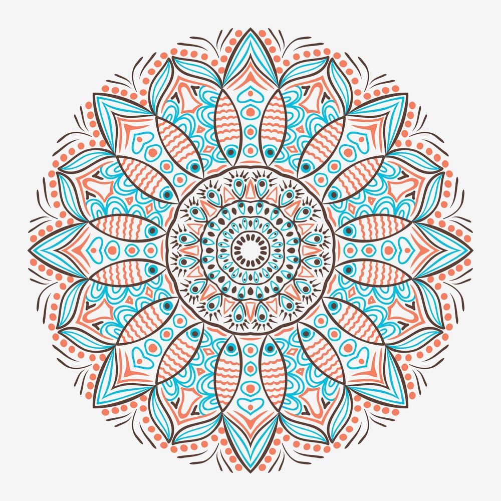 Ornamental Round Lace Pattern
