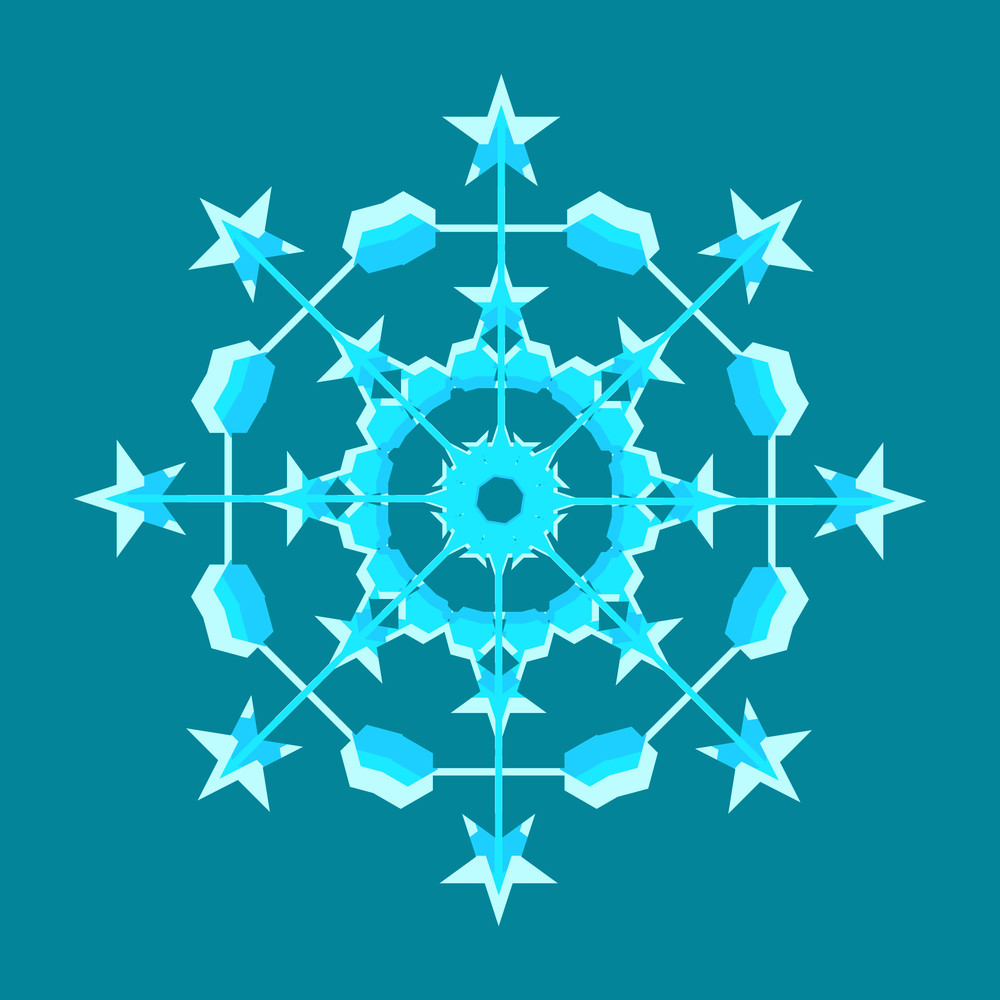 Ornamental Snowflake Design