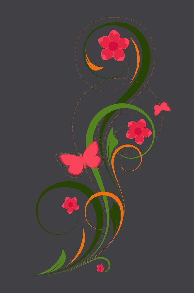 Ornate Flourish Design
