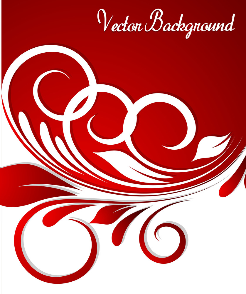 Ornate Flourish Greeting Card