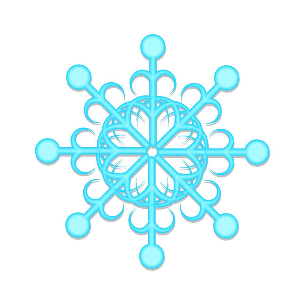 Ornate Snowflake Art