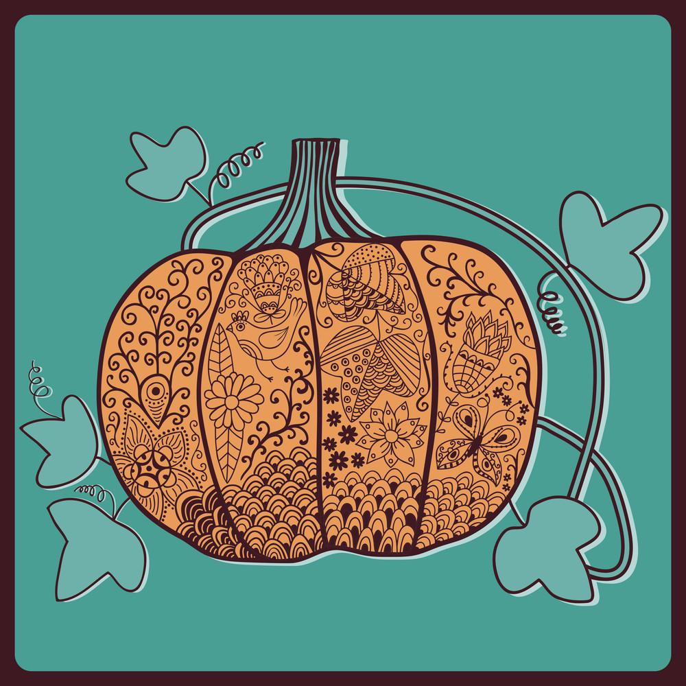 Ornated Pumpkin