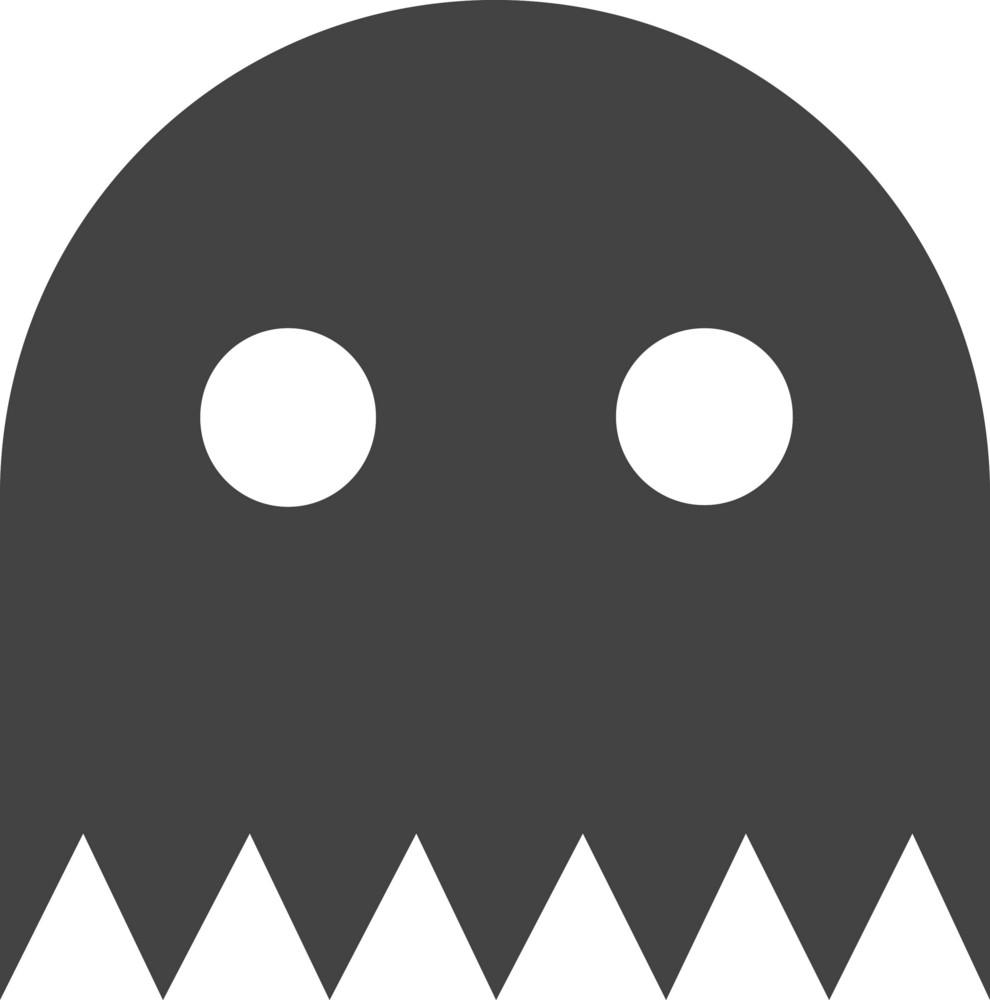 Pacman 2 Glyph Icon