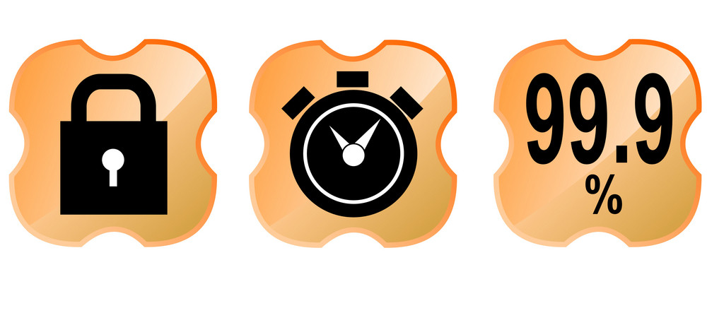 Padlock Alarm Clock 99.9% In Shield