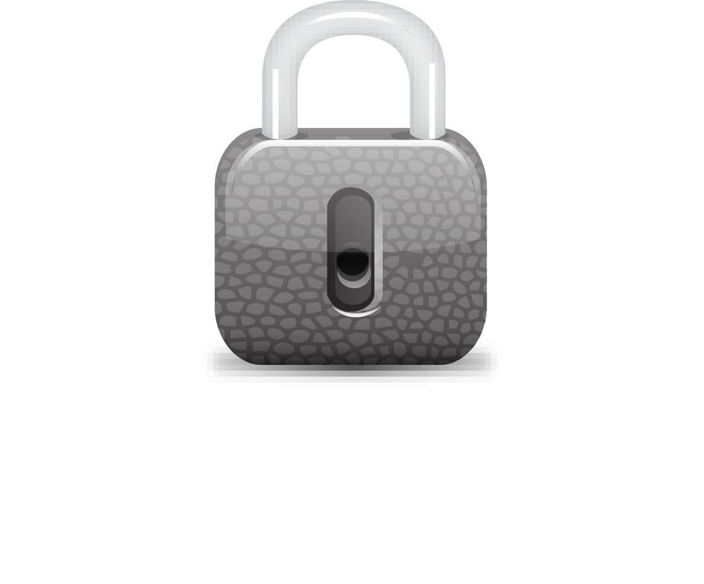 Padlock Locked Lite Plus Icon
