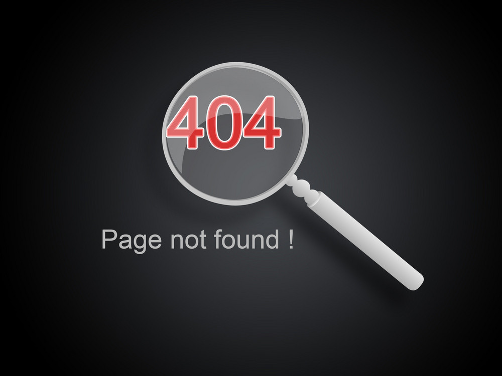 Page Not Found Web Background