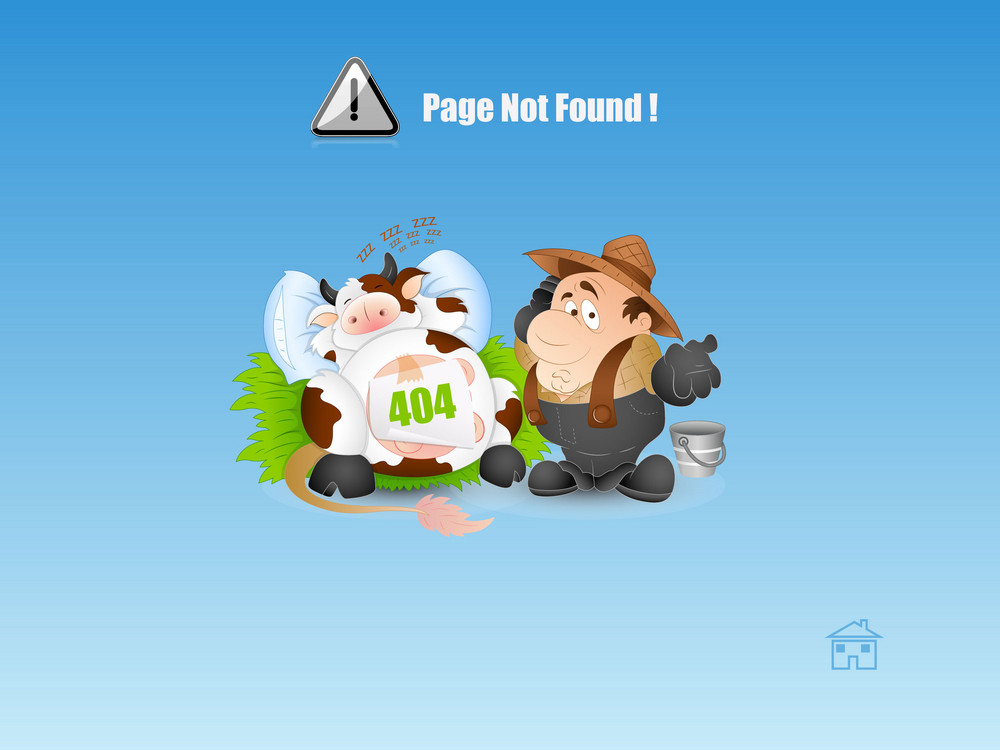 Page Not Found Web Page