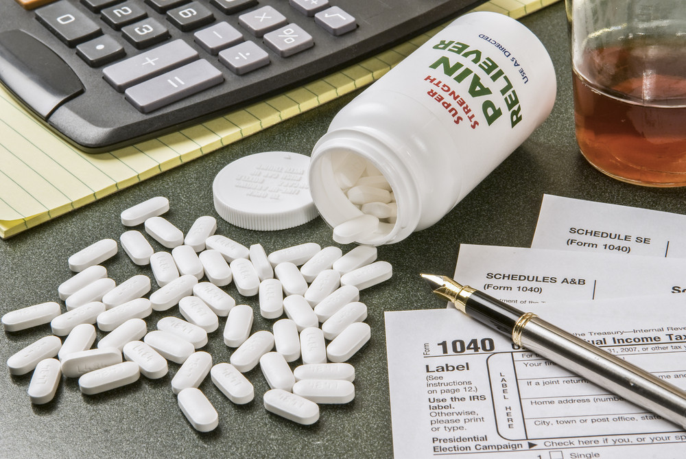 Pain Medicine As Tax Worries Relief