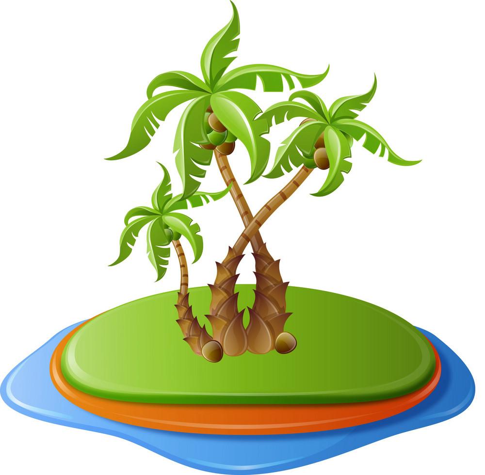 Palm Tree Island Itravel