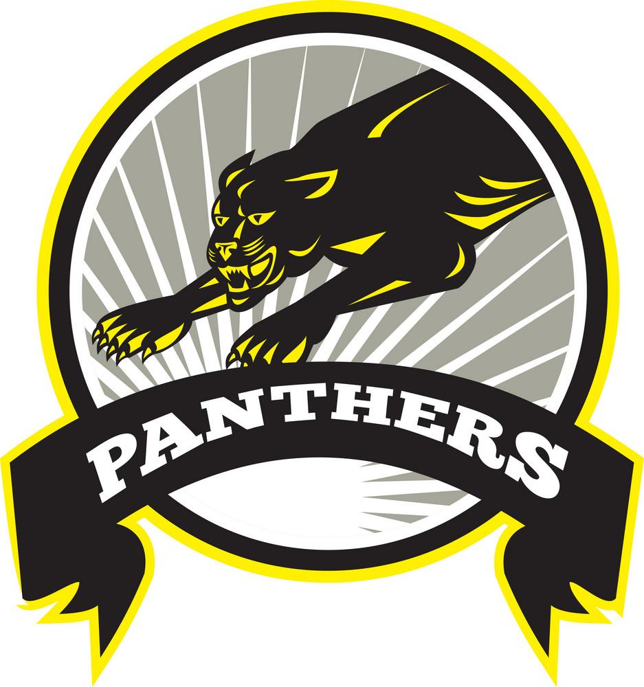 Panther Big Cat Growling