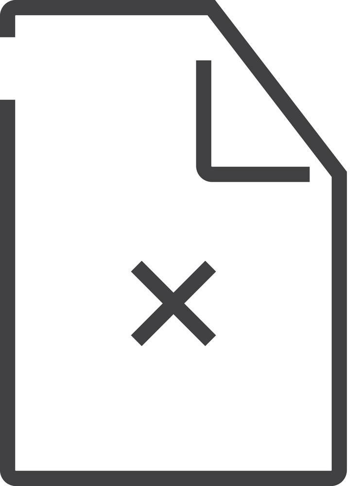 Paper 8 Minimal Icon