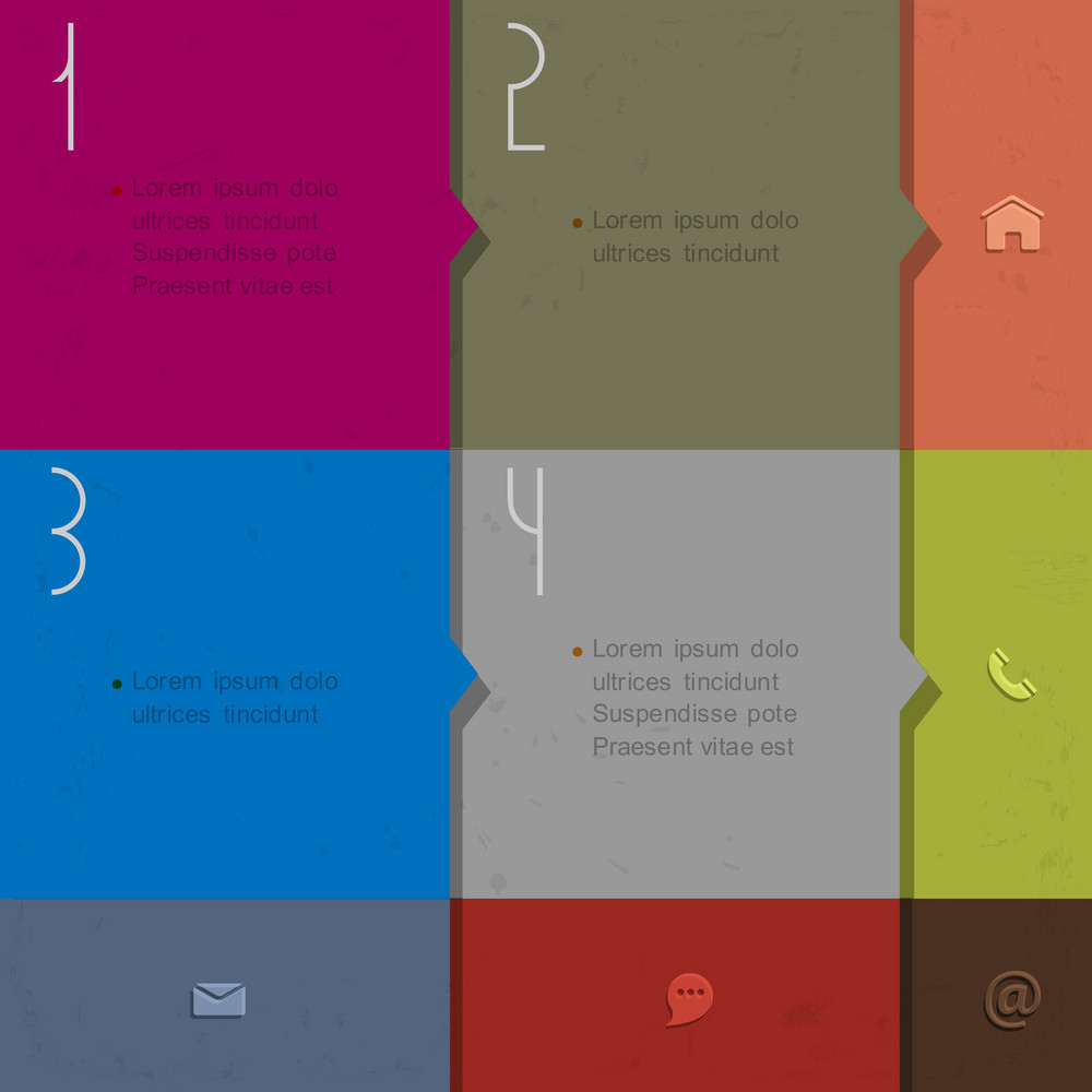 Paper Background For Design Infographics And Website Templates