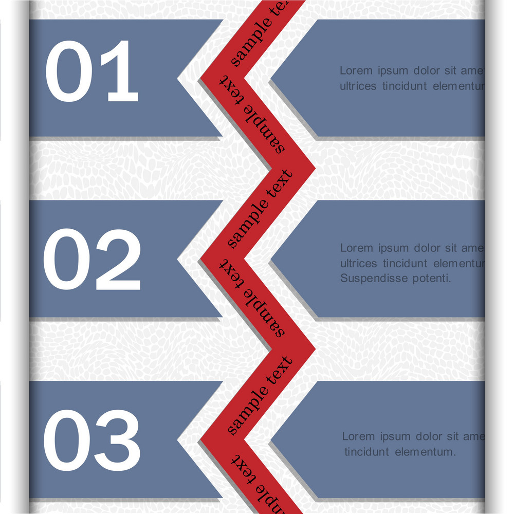 Paper Banners For Infographics Design