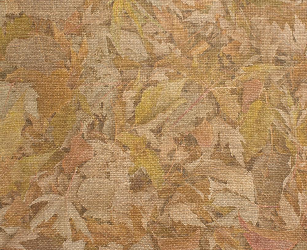 Paper Burlap Leaves
